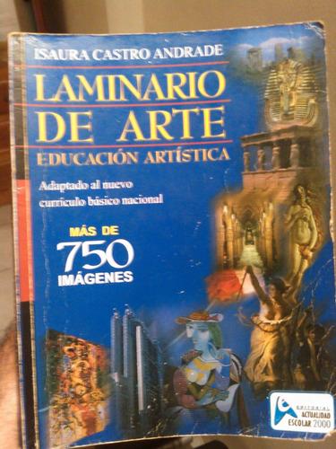 libro laminario de arte - educación artística ilustrado
