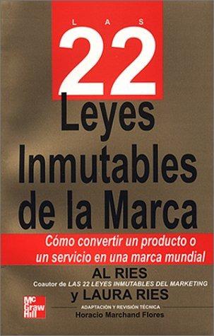 libro las 22 leyes inmutables de la marca - nuevo
