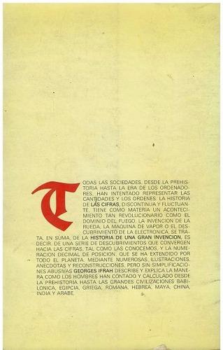 libro, las cifras historia de una gran invención g. ifrah.