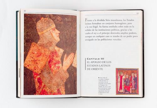 libro - las cruzadas - biblioteca de bolsillo