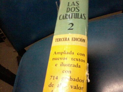 libro  las dos caràtulas paul saint-victor