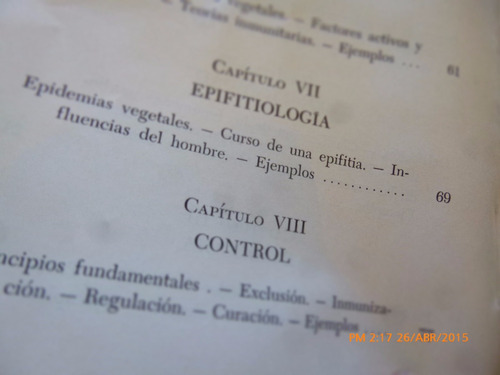 libro las enfermedades infecciosas de las plantas j.b m(r749