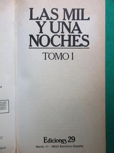 libro. las mil y una noches. dos tomos (edición íntegra)