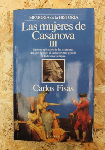libro: las mujeres de casanova iii