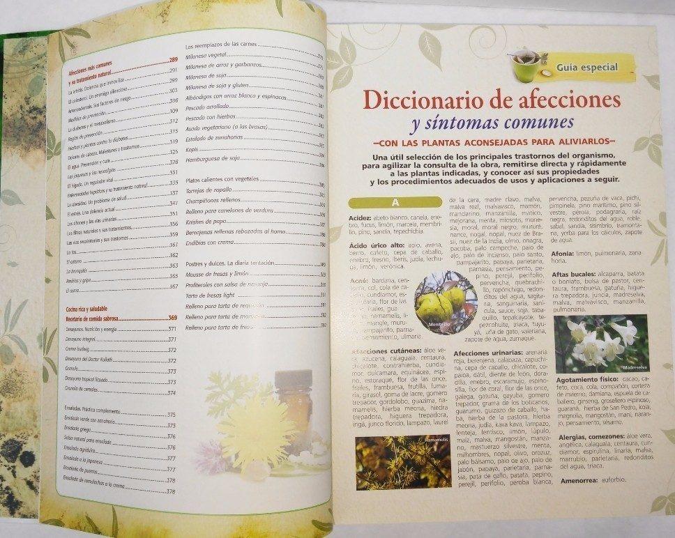 Libro Las Plantas Y Sus Propiedades Curativas - 1vol. Color ...