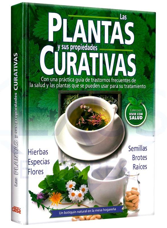 Libro las plantas y sus propiedades curativas s 90 00 for Planta decorativa propiedades medicinales