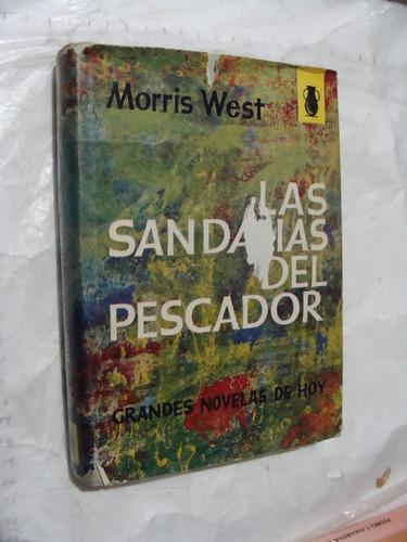 libro las sandalias del pescador , morris west , 366 paginas