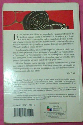 libro las tardes escondidas - memorias de la agresión sexual