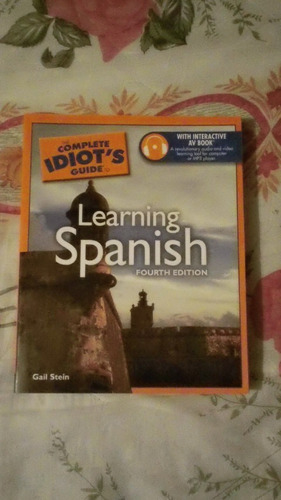 libro learning spanish, gail stein.