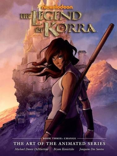 libro legend of korra - the art of the animated 3: the art o