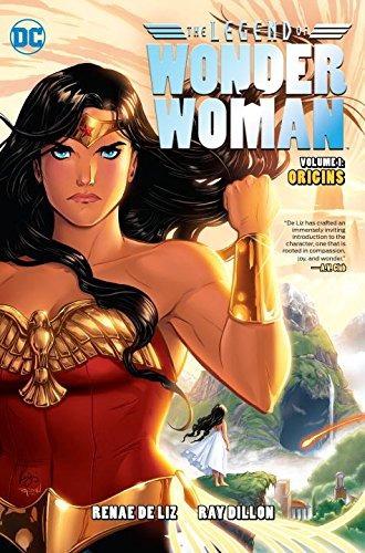 libro legend of wonder woman 1 - nuevo