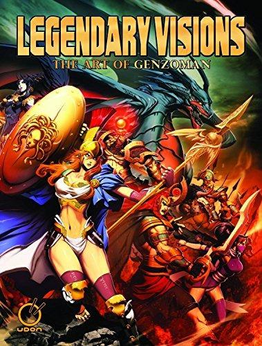 libro legendary visions: the art of genzoman - nuevo