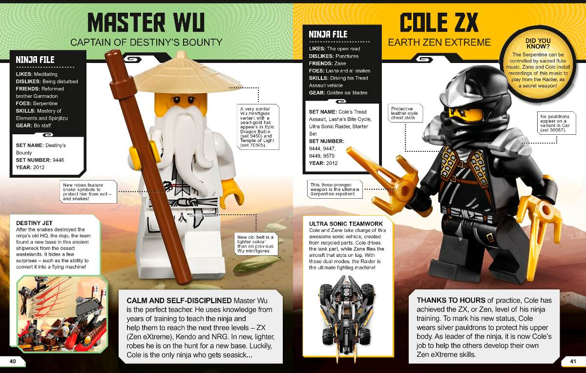 Libro Lego Ninjago Enciclopedia Actualizada Colección Ninja ...