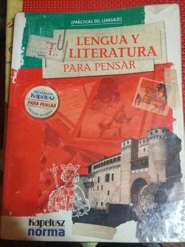 libro lengua literatura