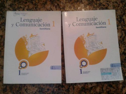 libro lenguaje y comunicación editorial santillana