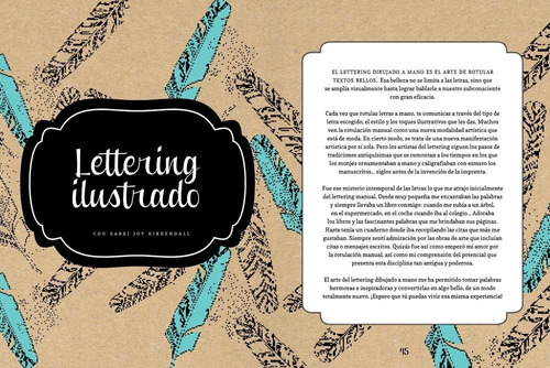 libro lettering creativo