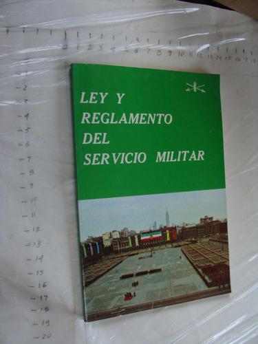 libro ley y reglamento del servicio militar , año 1995 , 97
