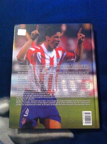 libro leyendas del atletico de madrid 101 idolos colchoneros