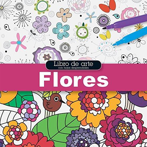 libro libro de arte: flores - nuevo