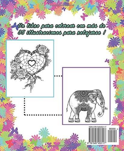 Libro : Libro De Colorear Para Adultos: Hippie Colorear (... - $ 799 ...