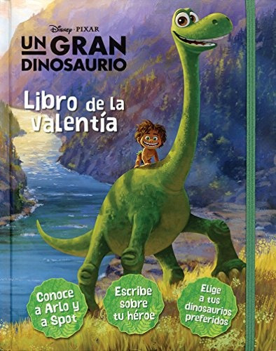 libro libro de secretos big: disney pixar. un gran dinosauri