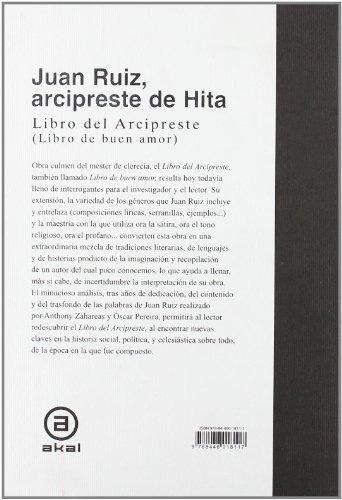 libro libro del arcipreste - nuevo