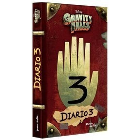 libro  libro journal 3 (diario 3) de gravity falls