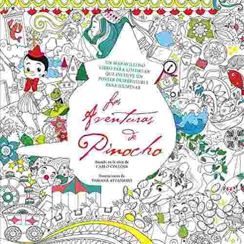Libro Libro Para Colorear Aventuras De Pinocho Las - Nuevo ...