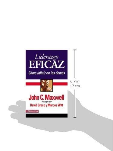 libro liderazgo eficaz - edición de bolsillo - nuevo