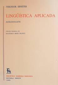 libro lingüistica aplicada