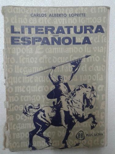 libro literatura española