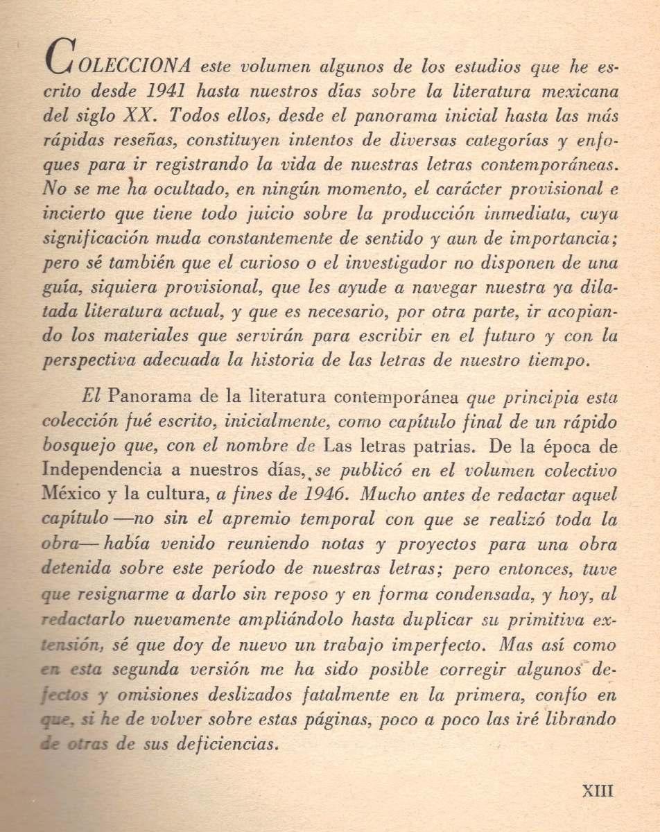 Literatura Mexicana. Siglo XX 1910-1949 - José Luis Martínez