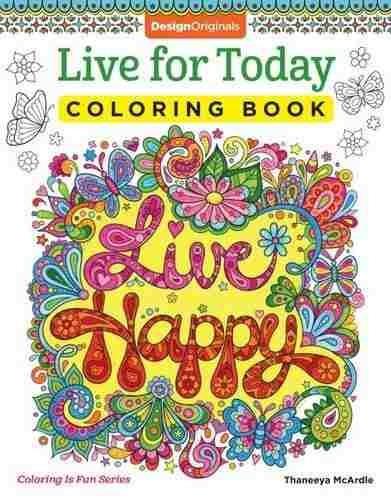 Libro Live For Today Coloring Book (coloring Is Fun) - Nuevo ...