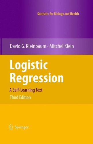 libro logistic regression: a self-learning text - nuevo