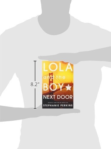 libro lola and the boy next door - nuevo -