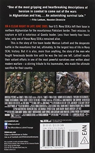 libro lone survivor: the eyewitness account of operation r