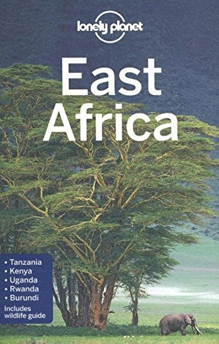 libro lonely planet east africa - nuevo
