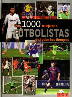 libro los 1000 mejores futbolistas de todos los tiempos