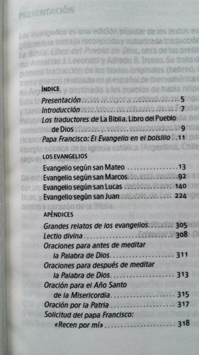 libro los evangelios packx30