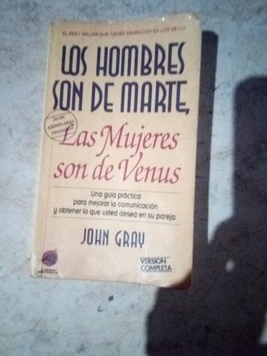 libro los hombres son de mrtrs las murjeres son de venus