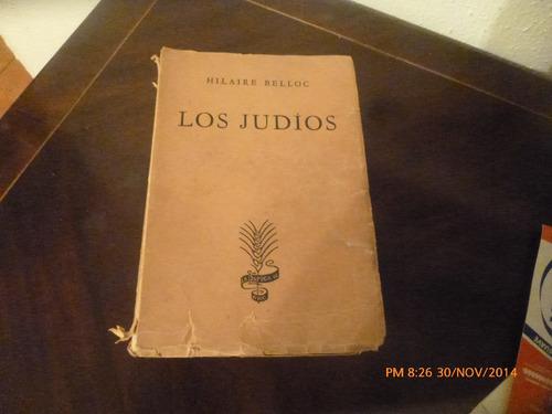 libro los judios  -hilaire belloc (113
