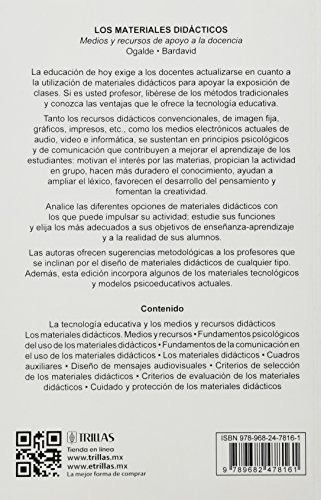 libro los materiales didacticos - nuevo