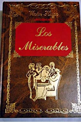 libro, los miserables de victor hugo.