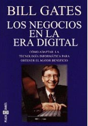 libro, los negocios en la era digital de bill gates.