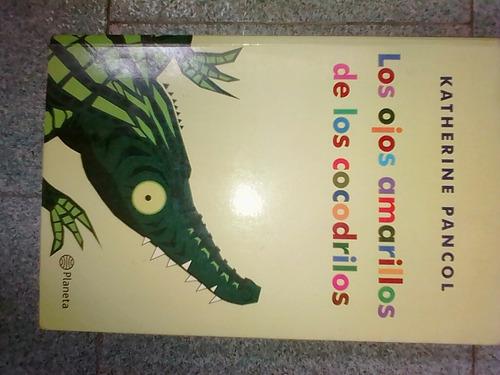libro los ojos amarillos de los cocodrilos