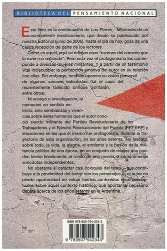 libro, los perros 2 memorias de rebeldía femenina en los `70