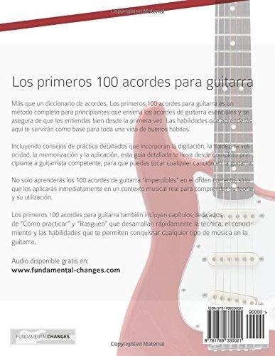 Libro : Los Primeros 100 Acordes Para Guitarra: Como Apre ...