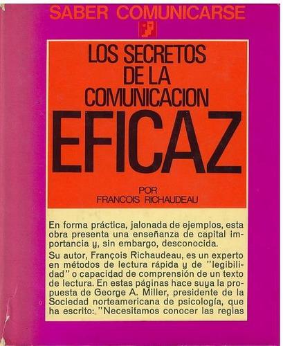 libro, los secretos de la comunicación eficaz de francois r.