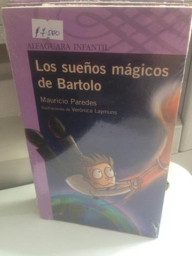 libro los sueños mágicos de bartolo