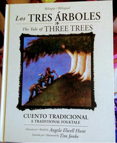 libro los tres arboles / the tale of three trees